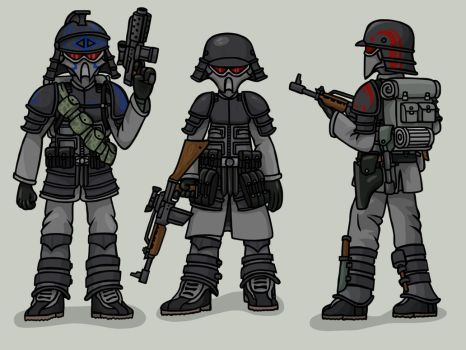 Death Legionnaires by The-General-Moe