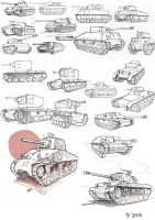 Tank Study by GoodOtaku