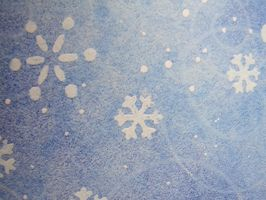 Swirling Blue Snow Texture 2 by FantasyStock