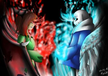 Good and Evil by Snilaze