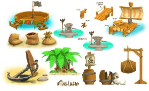 FunPark Pirate Theme by Miggs69