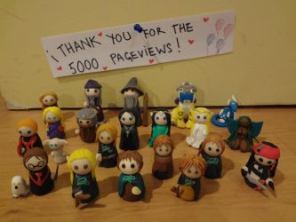 Happy 5000 Pageviews! by kangarawr
