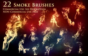 22 Normal Smoke Brushes by XResch