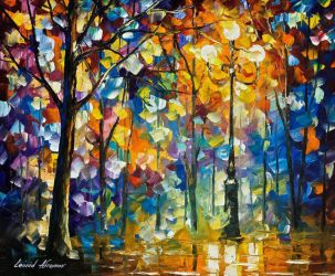 The Light Of Magic by Leonid Afremov by Leonidafremov