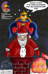 CAG DOG CHRISTMAS by WOLVERINE25TH