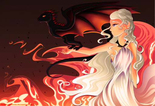 Mother of Dragons by TheNornOnTheGo