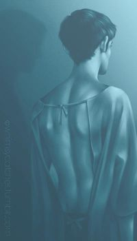 Open Back, Overt Stare by whimsycatcher