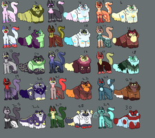 (OPEN!) 15 Point Adopt Batch by RattaCata