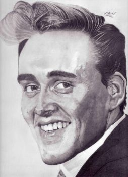 Billy Fury [graphite pencil] by mchurchill1982