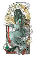 Lady Krampus by give-dreams-wings