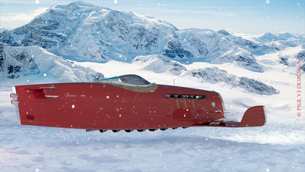 HPR 2016 Snow Mountain by PaulV3Design