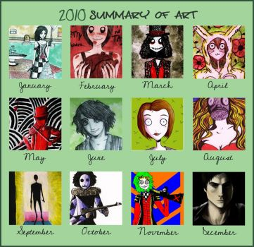 2010 summary of art by 0dark0-0angel0