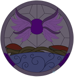 C Eris Stained Glass by Beadedwolf22