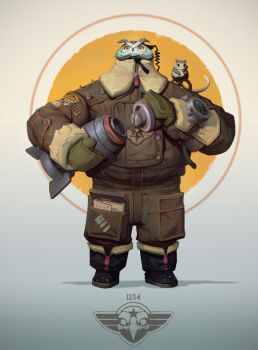 Owl-Bomber by Niconoff