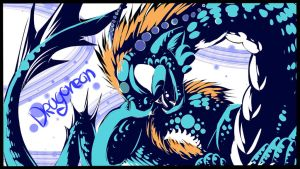 Dragoreon background by Saphizzle