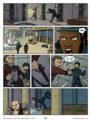 Recollection City page 43 - Escalation by HenrikeDijkstra