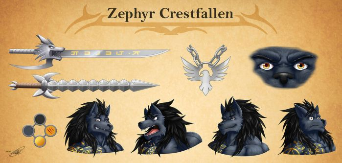 Zephyr  Crestfallen Part Two by SymbolHero
