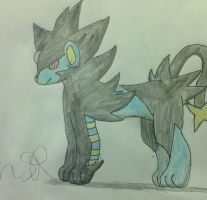 Luxray by JudgeChaos