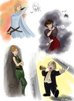 Ladys and Hobbit for The Rohan by Poticceli
