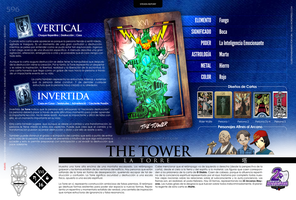 [Infografia][ES] XVI - THE TOWER by personauser