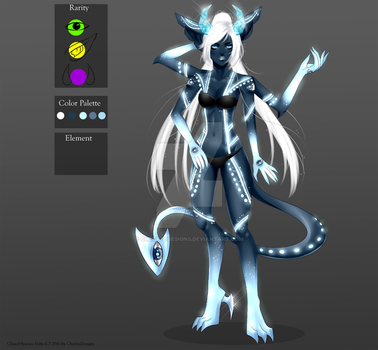 (closed) Auction Adopt - kanohi Frost by CherrysDesigns