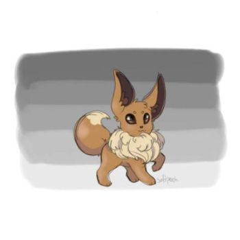 Eevee Sketch by softperch