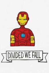 Divided We Fall: Iron-Man by michnguyenart