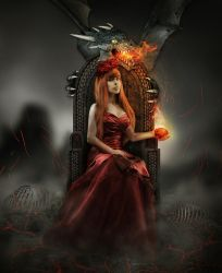 The Dangerous Queen by Lady-Vilna