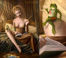 Wrong frog? by mashamaklaut