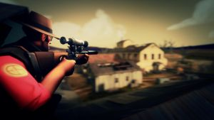 SFM Poster: Perched Sniper by PatrickJr
