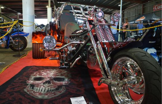 bankstown custom motorcycle show 2017 trike by WolfBlitz2