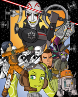 Star Wars Rebels by MobianMonster