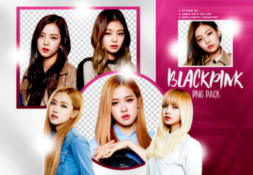 PNG PACK: BLACKPINK #1 by Hallyumi
