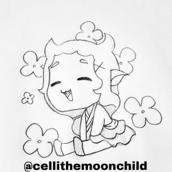 Chibi Lilith by cellithemoonchild