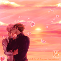 Eventide Kiss by KnightingaleSong