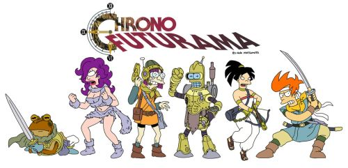 Chrono Futurama by spacecoyote