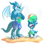 Beach Vees by weremagnus