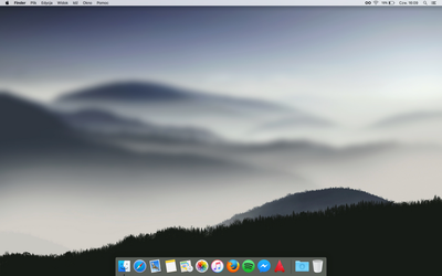 macOS Sierra - my current desktop by maxxdogg