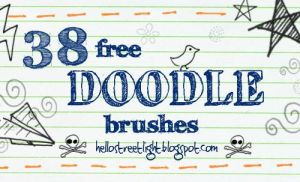 Free Brush Set 22: Doodles by tau-kast