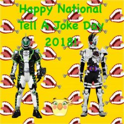 Happy National Tell A Joke Day 2018! by RaphaelFernandez2001