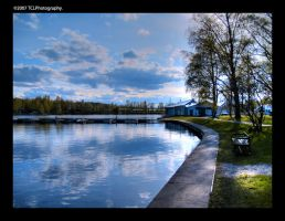 Rantapuisto. HDR by Tinnunculus