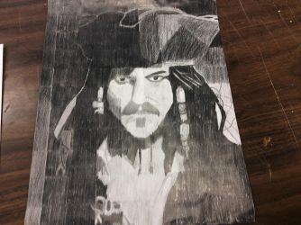 Jack Sparrow Drawing by FireHeart132