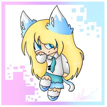 A Girl with ears by CatGirl22111