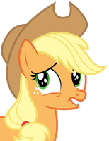 Applejack - Nervous by bobsicle0