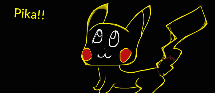 Pikachu by RainbowDashArtist