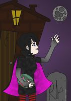Mavis's first Summerween 17 B-DAY DA by THECLOUD96
