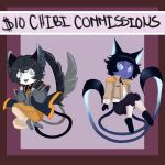 $10 Chibi Commission by MidnightZone