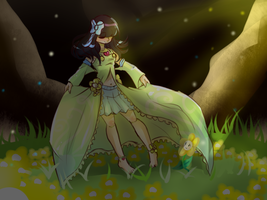 +Fan art/Doodle+ Tranquility by Crystaliiisms