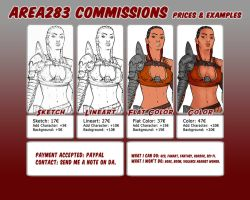 Area283 - Commissions - Info by Area283