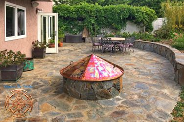 Kittell's Fire Pit Copper Cover 1 by Darrian-Ashoka